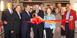 Grand Reopening celebration and ribbon cutting
